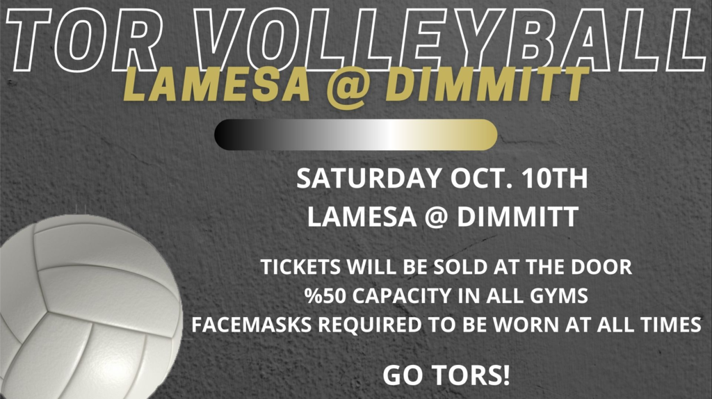 Volleyball at Dimmitt
