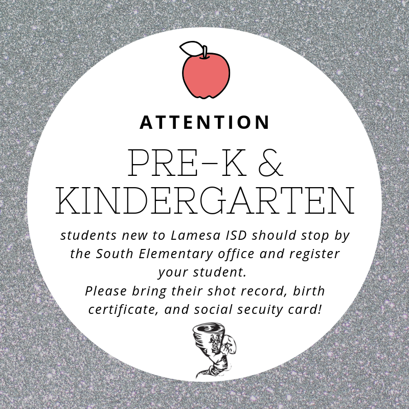 South Elementary Registration