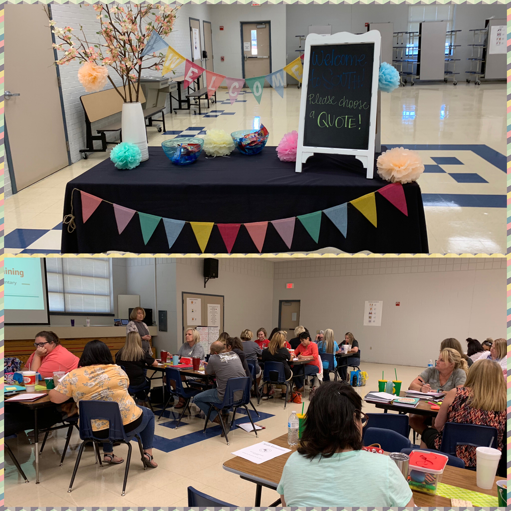 South Elementary inservice