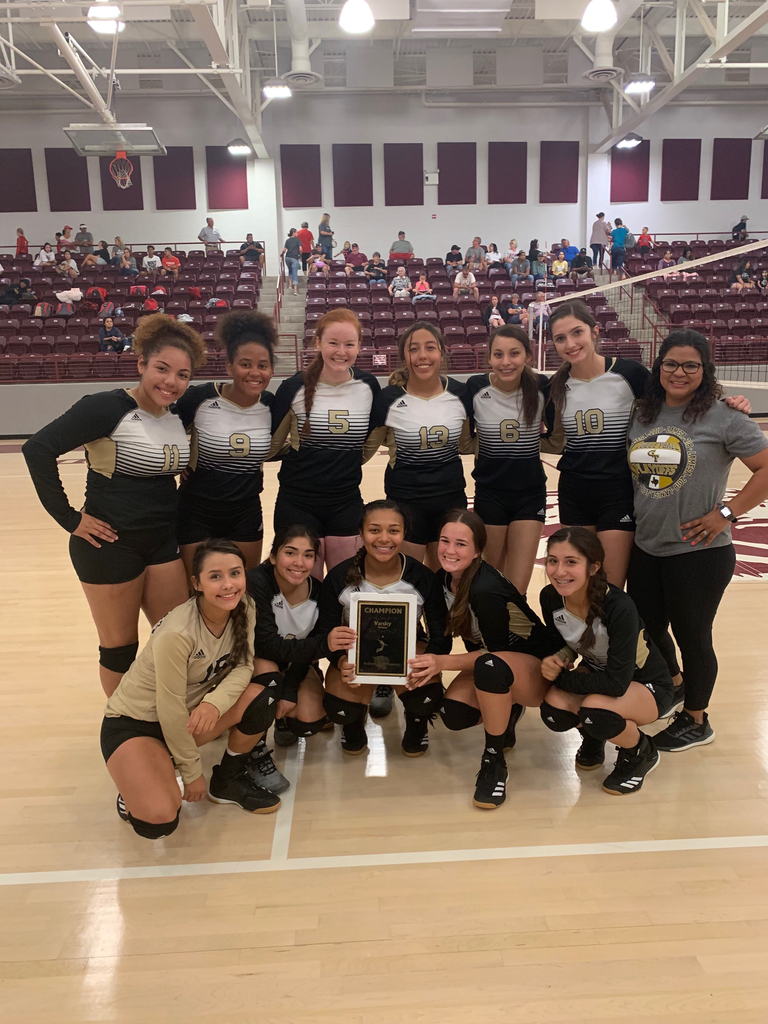 Varsity Volleyball wins Littlefield Tournament