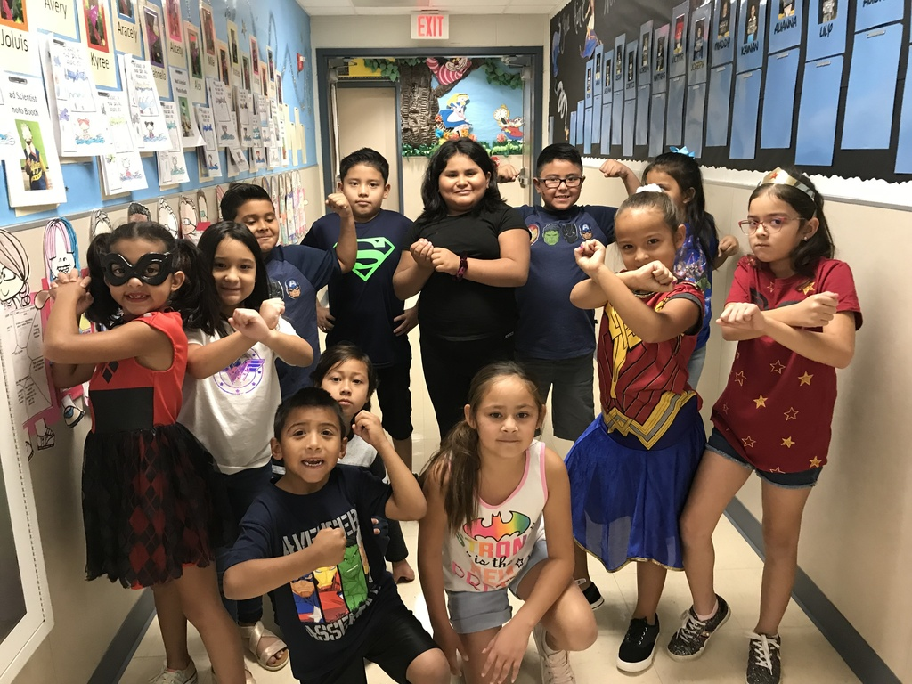 the MARVEL-ous 2nd Grade!