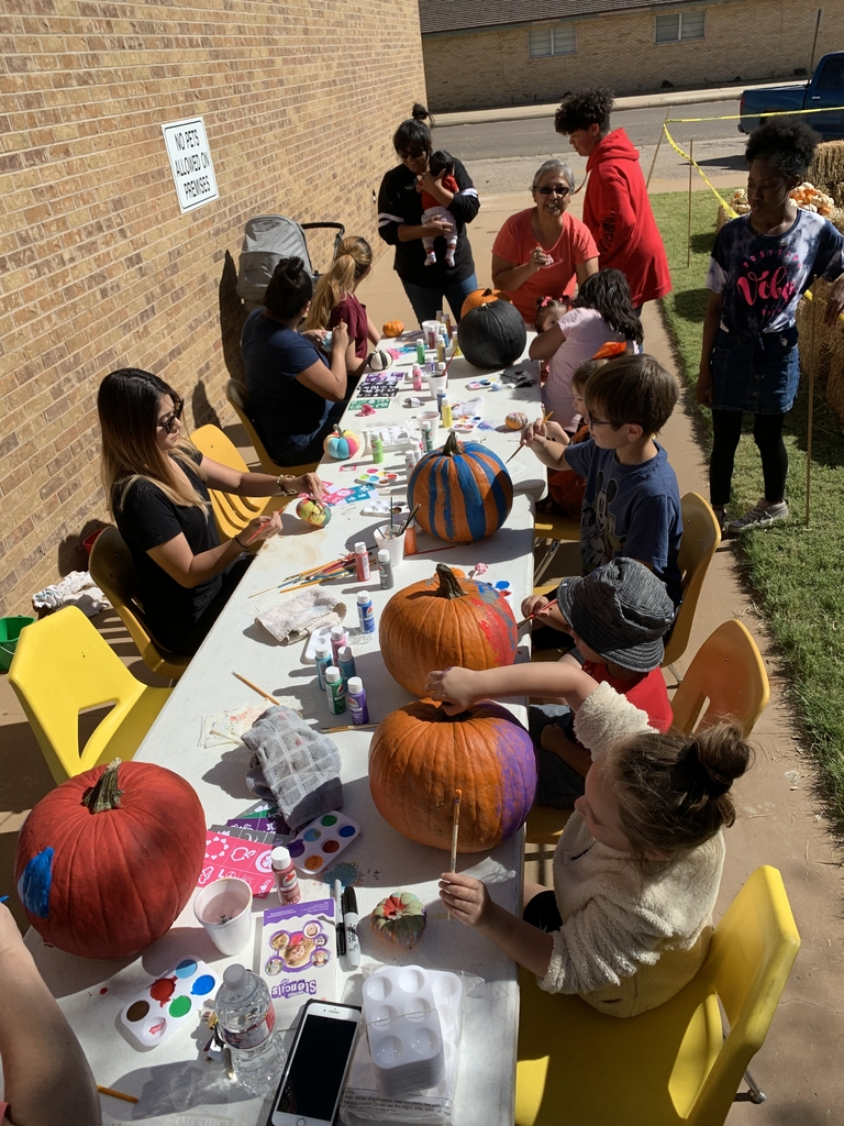 Paint-O-Punkin' & supporting Lamesa FCCLA!