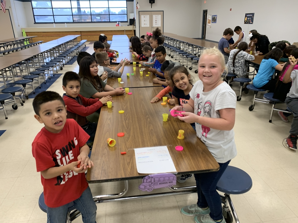 Perfect attendance play dough!!