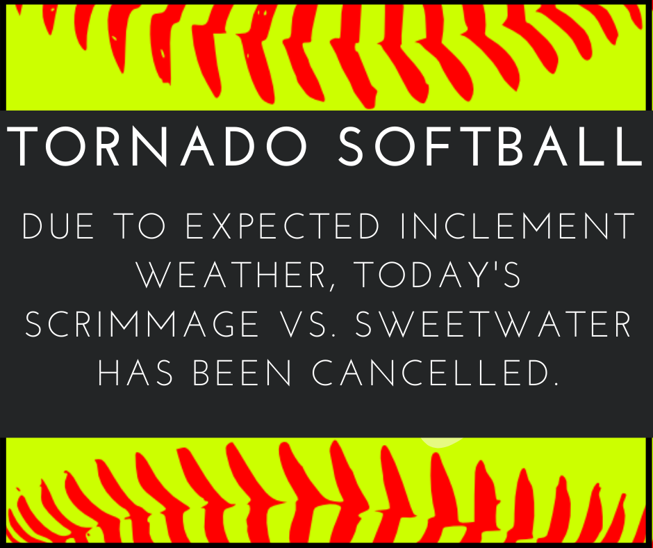 Softball Cancellation