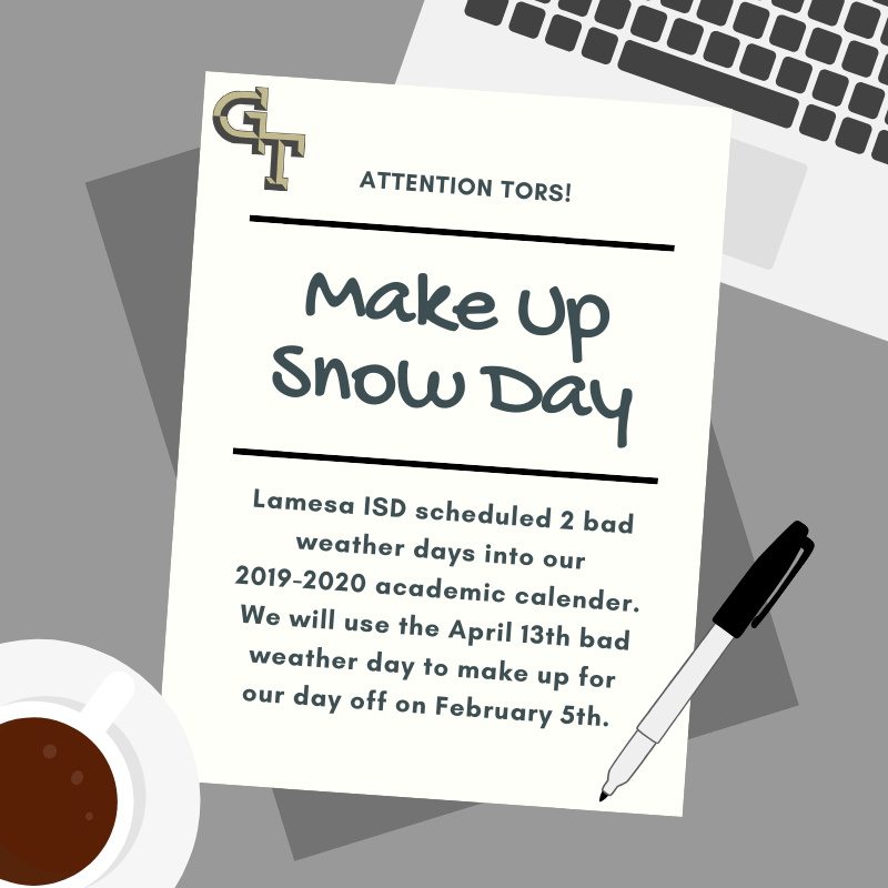 Make Up Snow Day