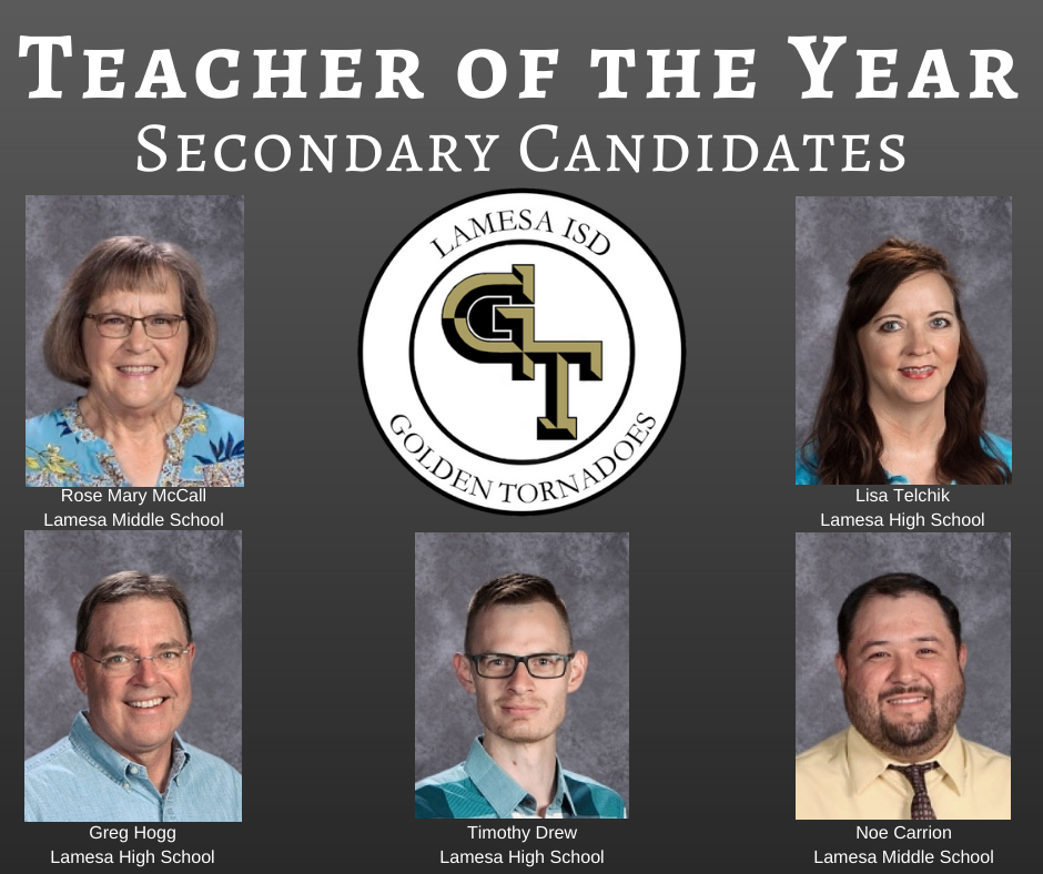 Secondary Teacher of the Year