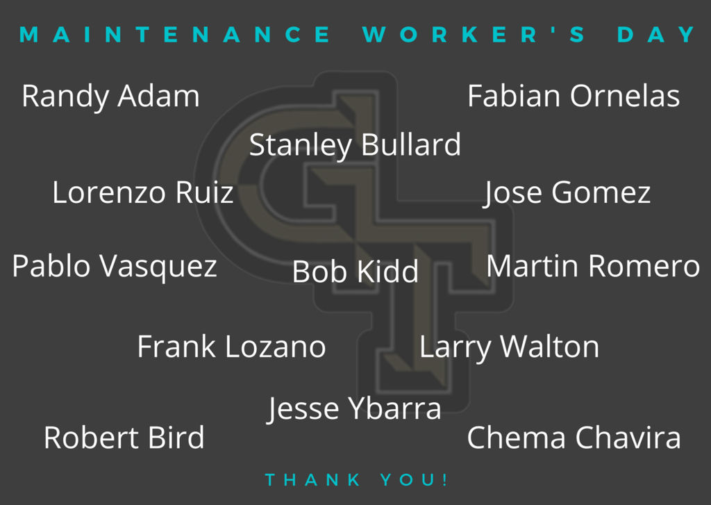 Maintenance Worker's Day