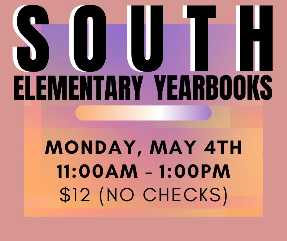 South Elementary Yearbooks