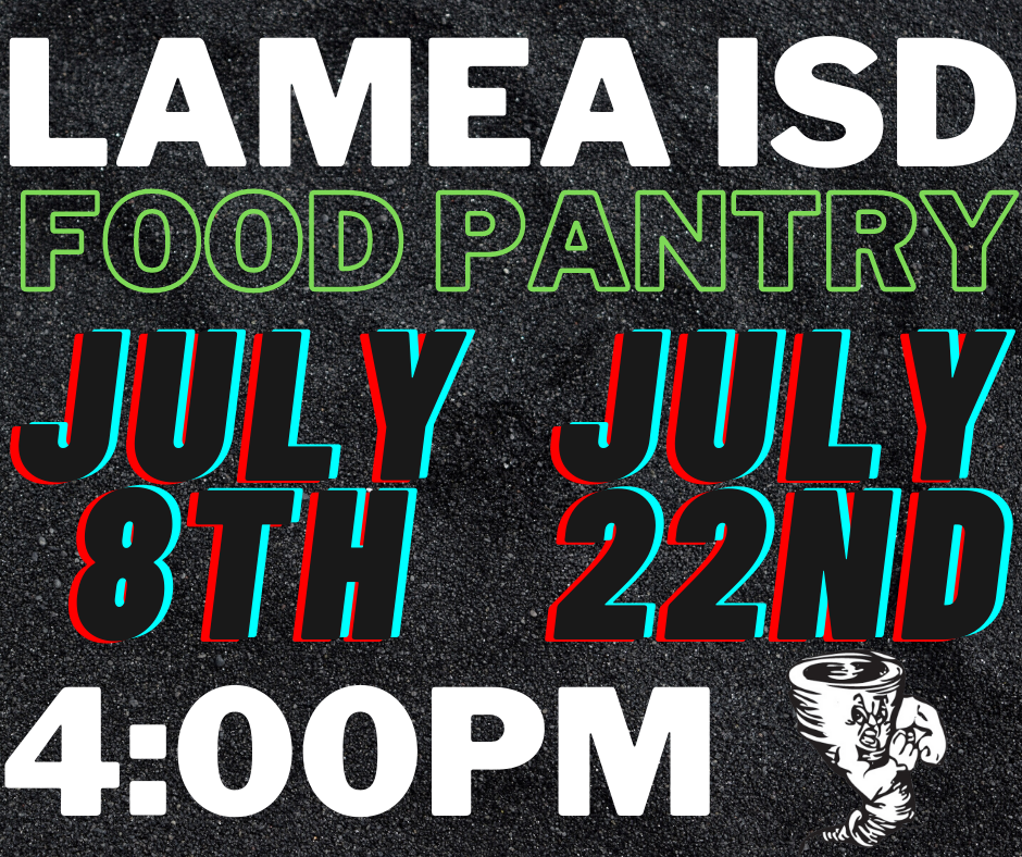 Food Pantry-July Dates