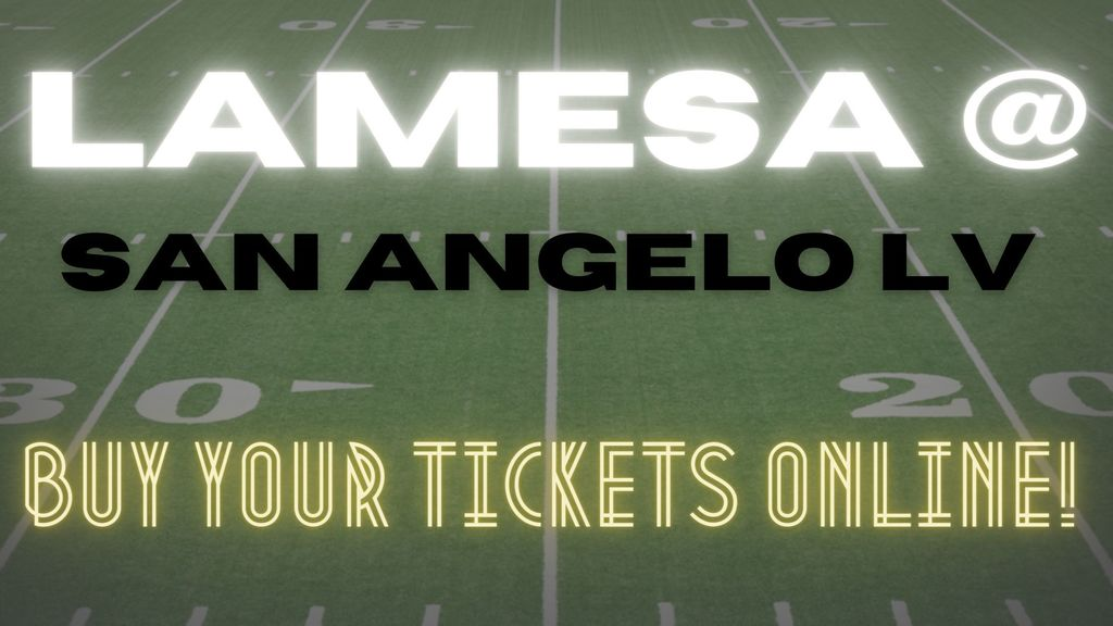 Lamesa VS San Angelo LV Tickets